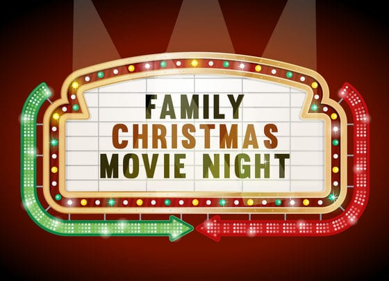 Image result for christmas movie night