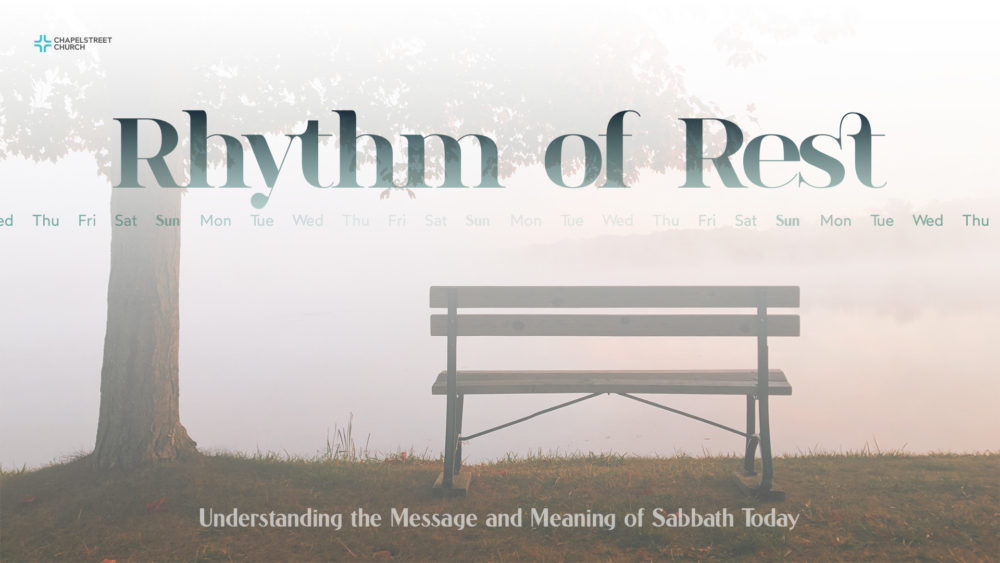 Rhythm of Rest